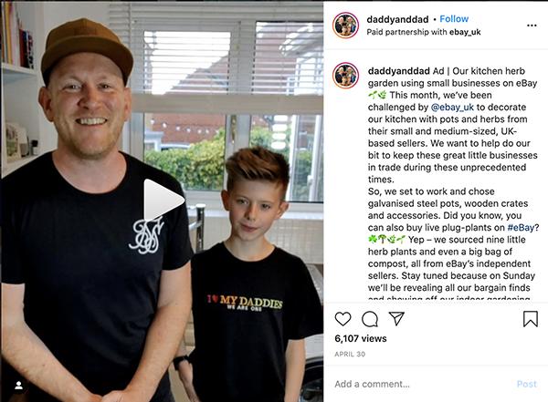 dad influencers daddyanddad