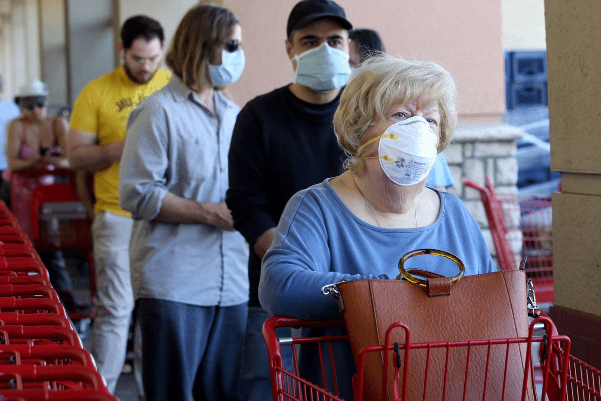 Masks are a new way of life for North American shoppers