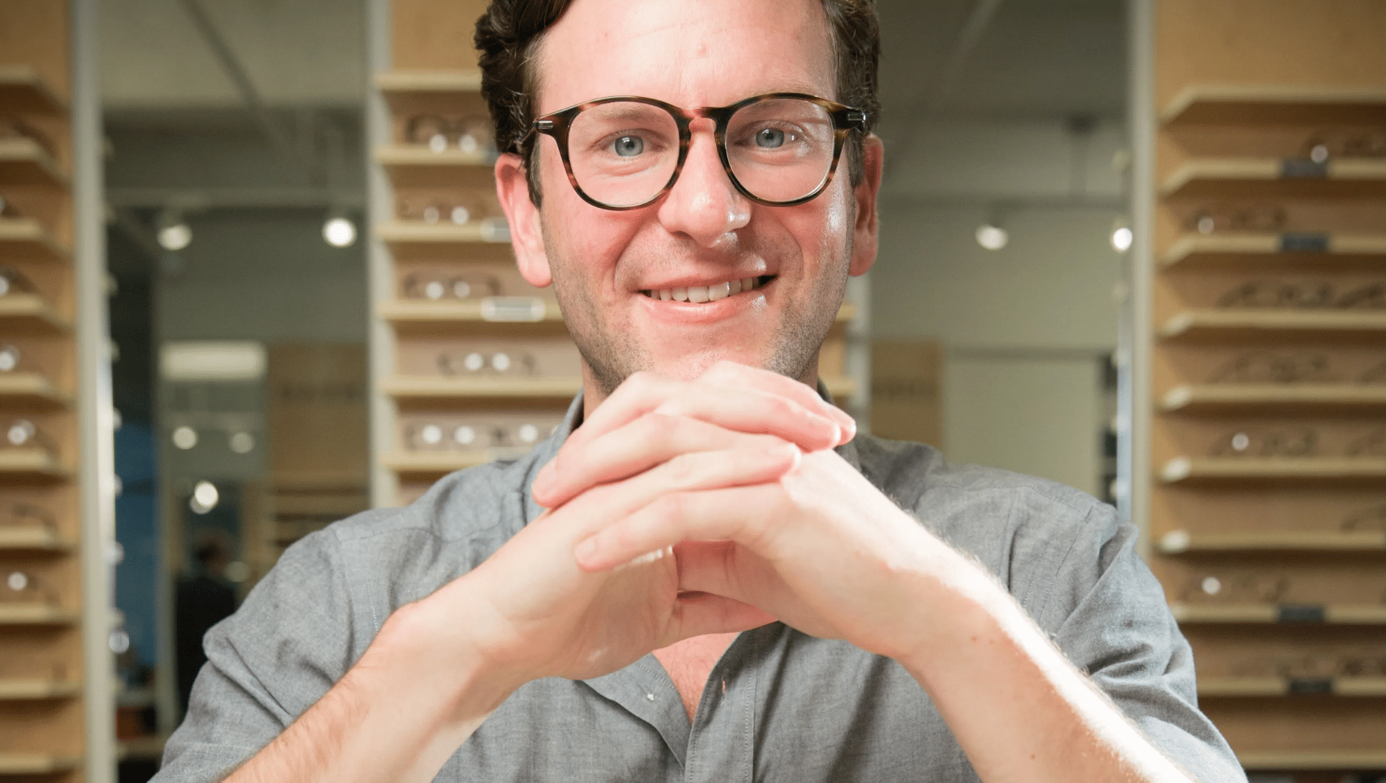 Dave Gilboa was one of four founders behind Warby Parker's launch in 2010