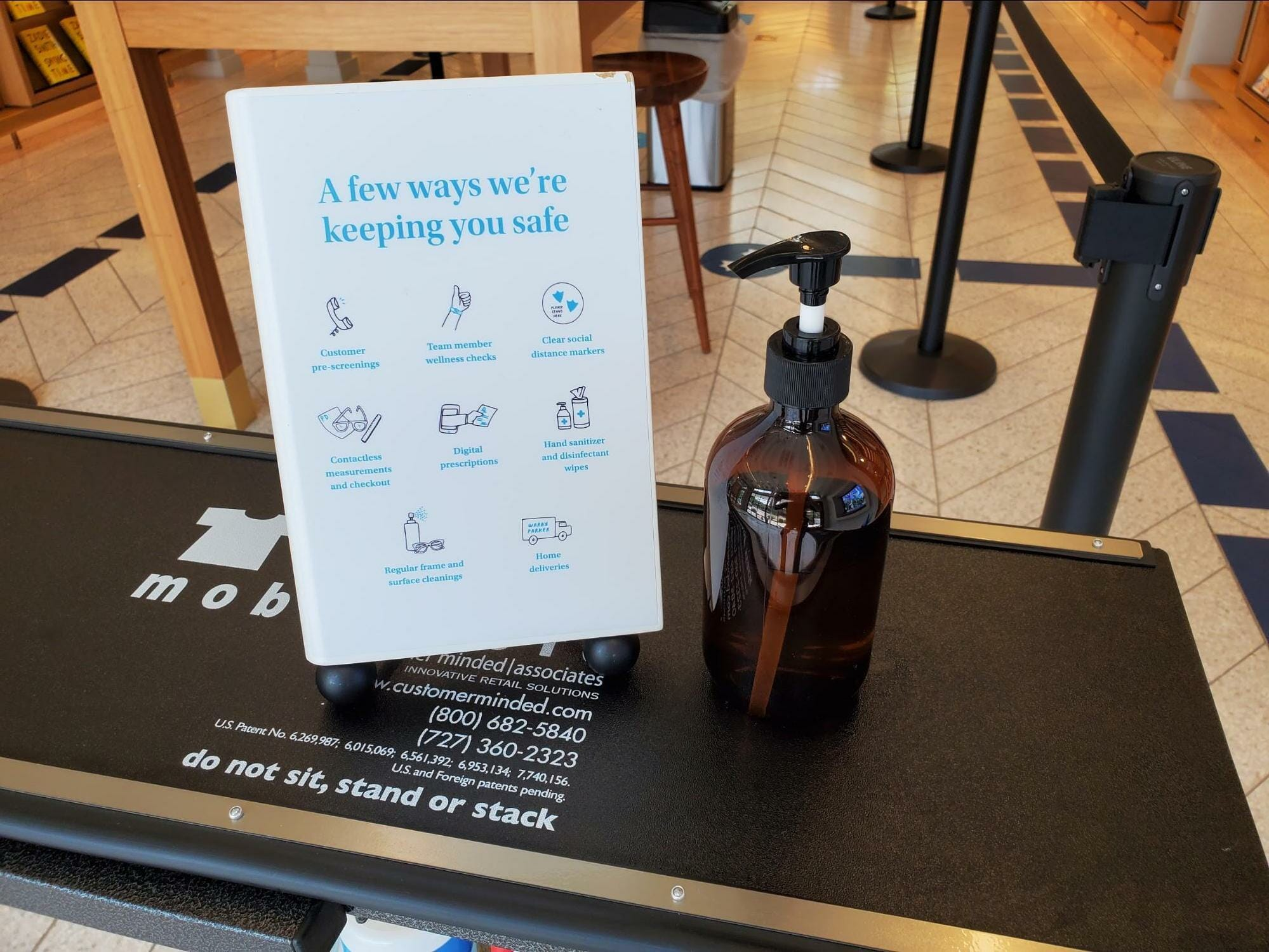 Warby Parker has reopened some of its stores following their COVID-19 closures in March