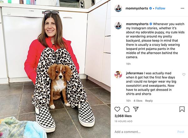 mom influencers mommyshorts