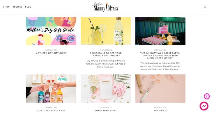 Skinny Mixes Blog