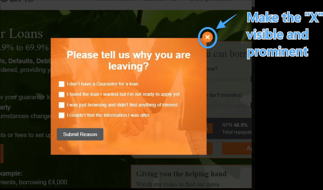 optimonk_popups_easy_to_close_SMSBump
