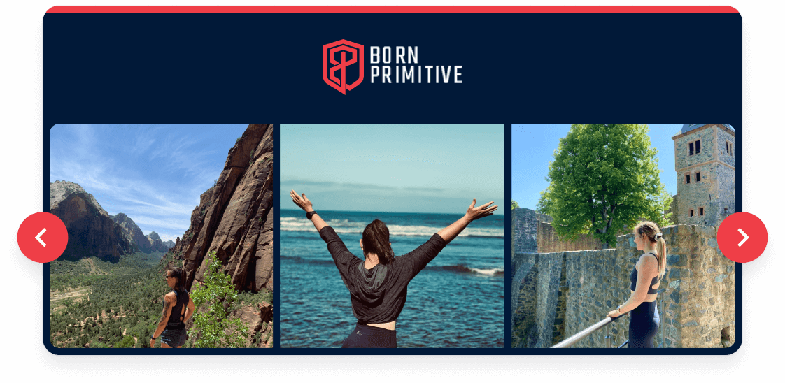 Born Primitive visual