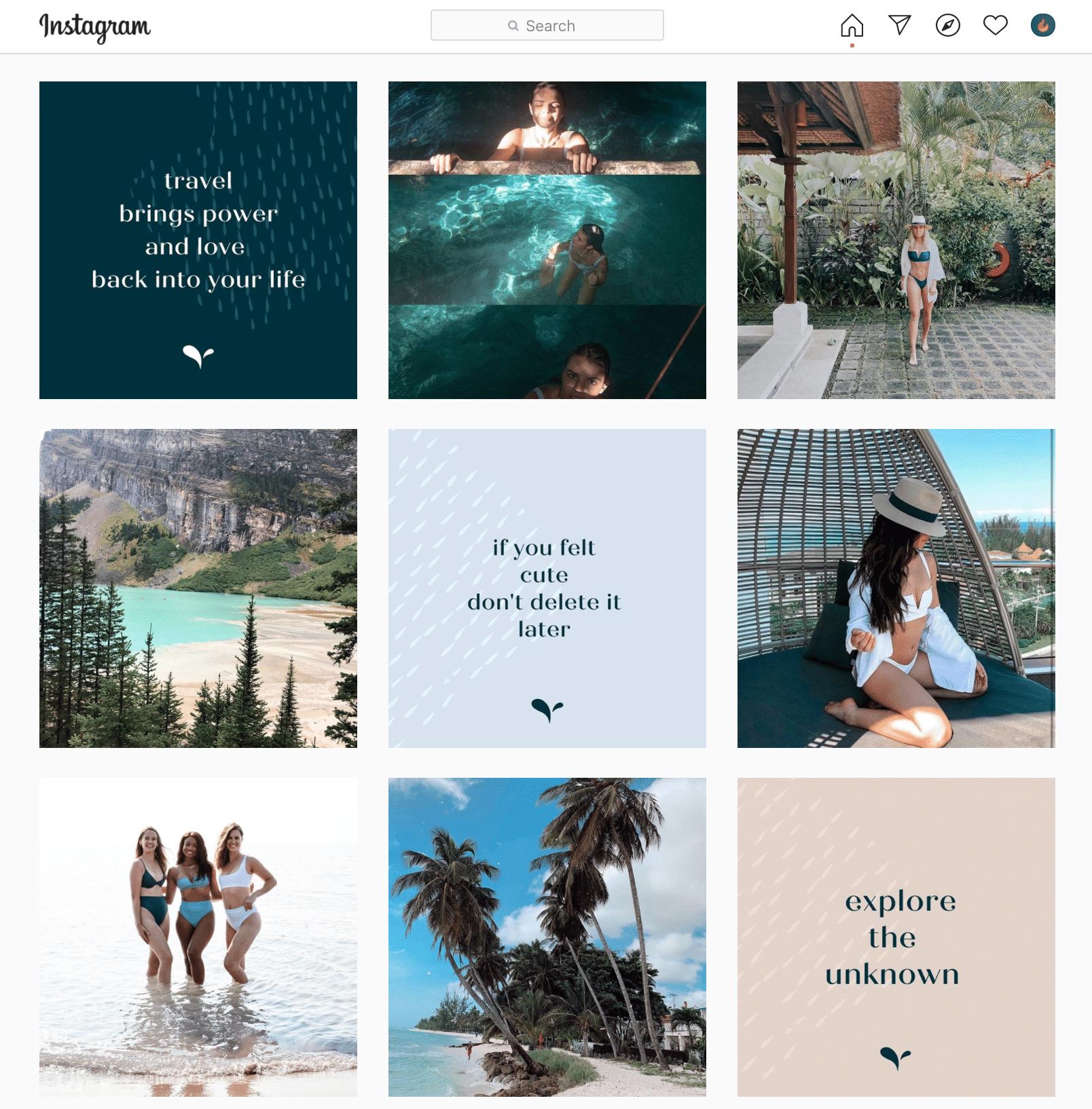 LAC Swim Instagram Profile