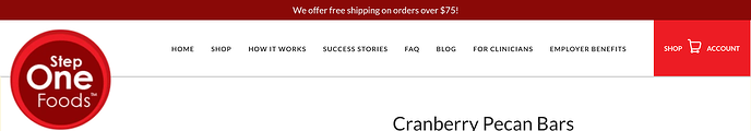 Privy Free Shipping Bar