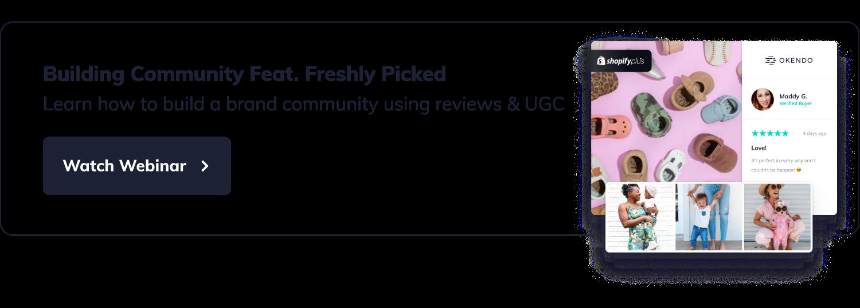 Lead Magnet - Freshly Picked webinar