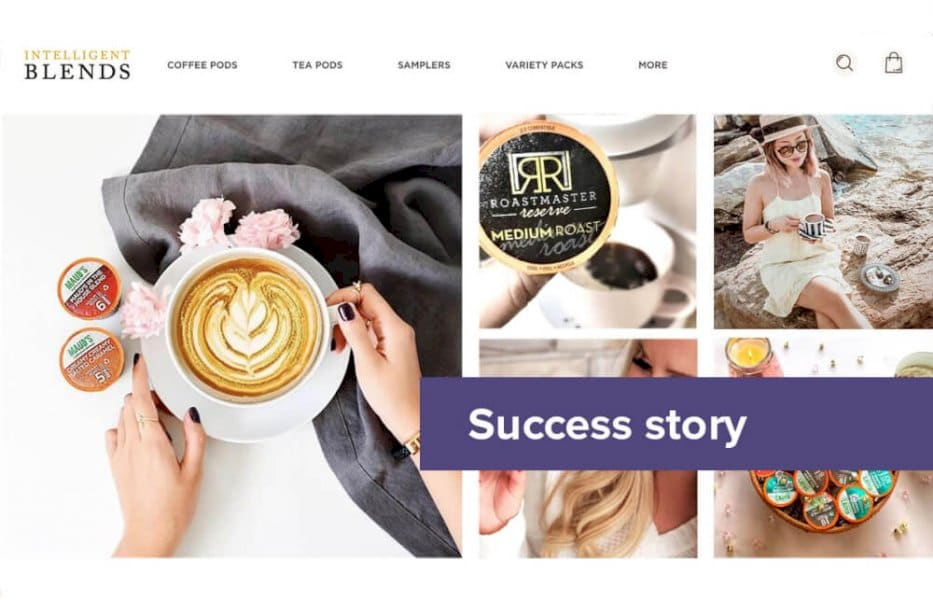 intelligent-blends-shopify-success-story-with-firepush-push-notifications