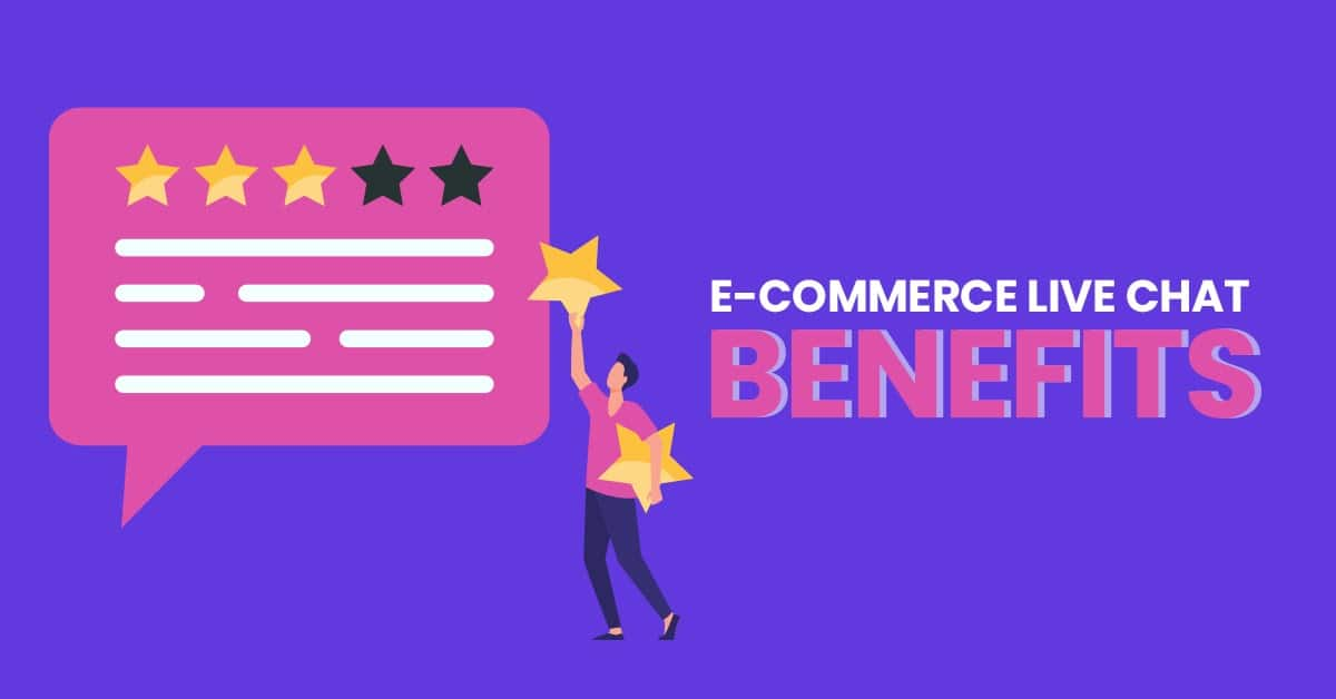 Live chat benefits for Shopify stores