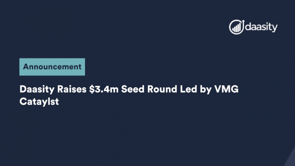 daasity-raises-$3.4m-seed-round-led-by-vmg-cataylst