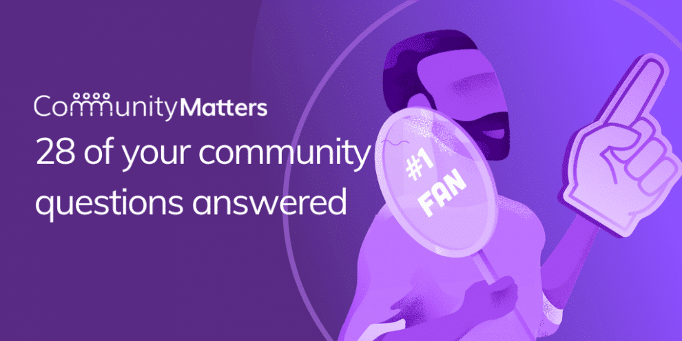 online-customer-community:-28-of-your-community-questions-answered