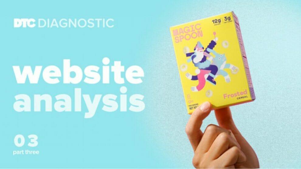 dtc-diagnostics-part-3:-magic-spoon-website-analysis